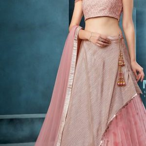 Cocktail lehenga